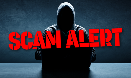 Scam Warning – Third Party Payments