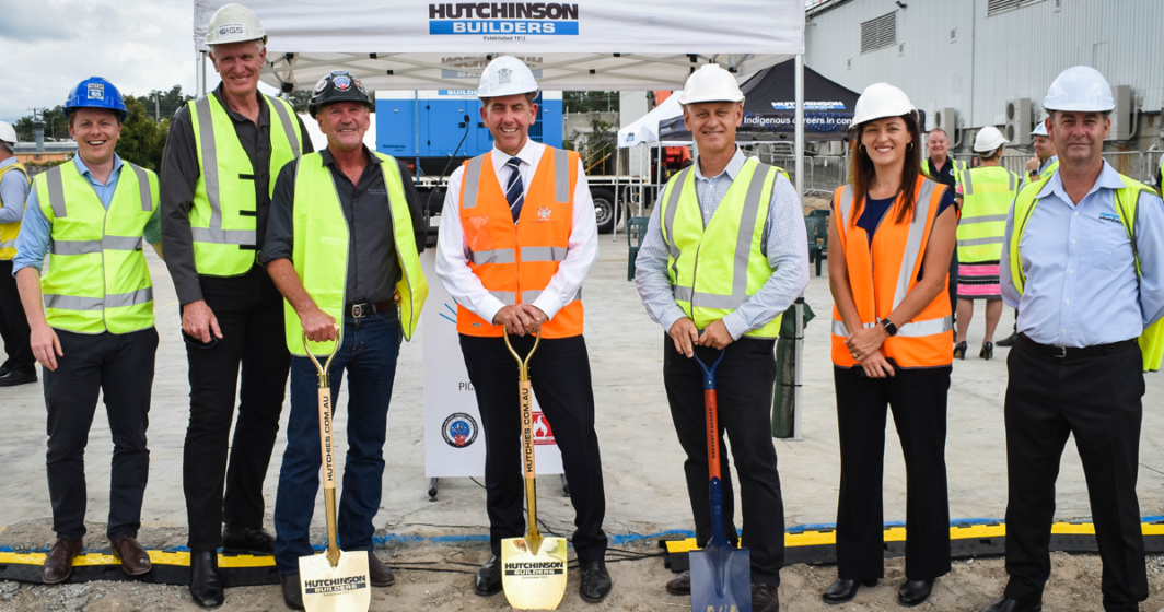 Sod turning marks $20 million investment in future hydrogen workforce